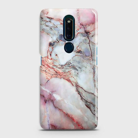 Violet Sky Marble 3D Trendy Case For Oppo F11 Pro