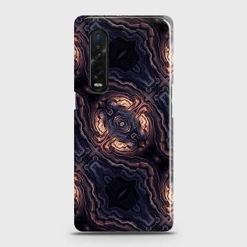 Oppo Find X2 Pro Cover - Source of Creativity Trendy Printed Hard Case with Life Time Colors Guarantee