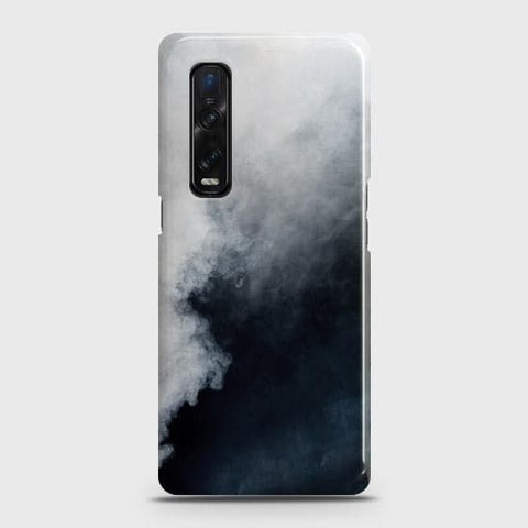 Oppo Find X2 Pro Cover - Trendy White Floor Marble Printed Hard Case with Life Time Colors Guarantee