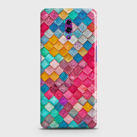 Chic Colorful Mermaid 3D Case For Oppo Reno