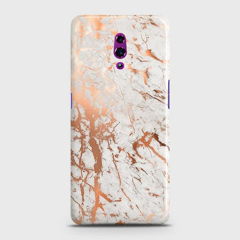 3D Print in Chic Rose Gold Chrome Style Case For Oppo Reno
