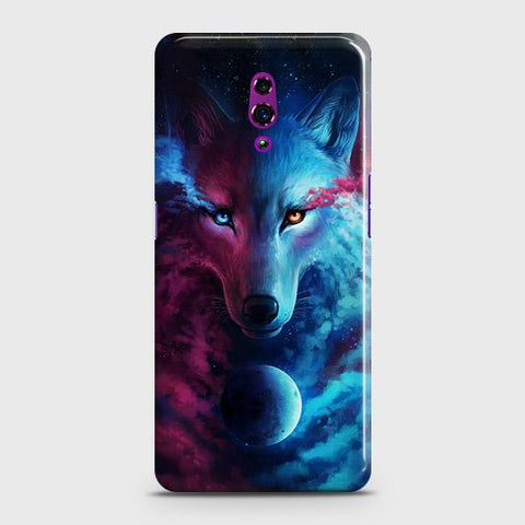 Infinity Wolf 3D Trendy Case For Oppo Reno
