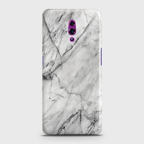 Trendy White Marble Case For?Oppo Reno