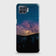Oppo F17 Pro Cover - Embrace Dark Galaxy  Trendy Printed Hard Case with Life Time Colors Guarantee