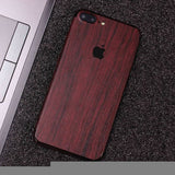 Wood Material Vinyl Phone Skin For Huawei Y5 II - Pear Wood