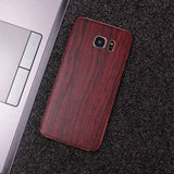 Wood Material Vinyl Phone Skin For Huawei Mate 10 Lite - Pear Wood