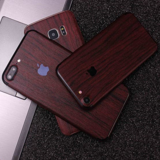 Wood Material Vinyl Phone Skin For Samsung Galaxy Note 9 - Pear Wood
