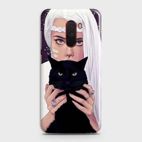 Trendy Wild Black Cat Case For Xiaomi Pocophone F1