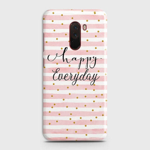 Trendy Happy Everyday Case For Xiaomi Pocophone F1