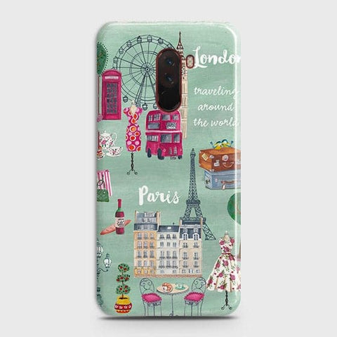 London, Paris, New York Modern Case For Xiaomi Pocophone F1