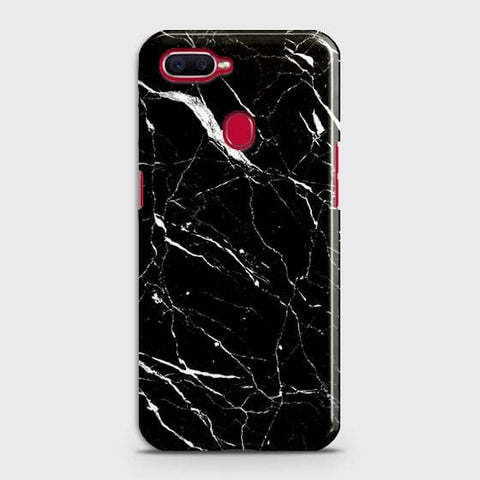 Trendy Black Marble Case For Realme 2