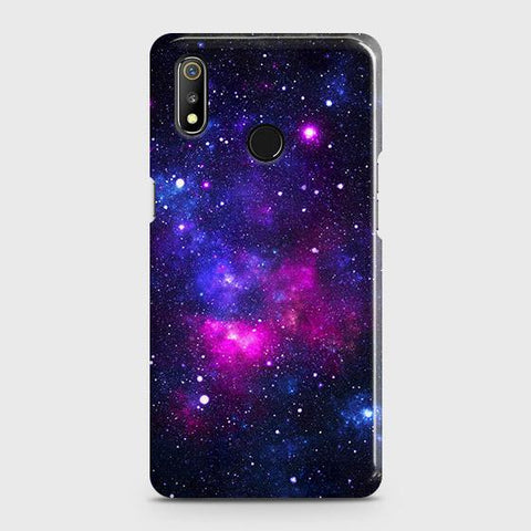Dark Galaxy Stars Modern Case For Realme 3