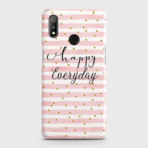 Trendy Happy Everyday Case For Realme 3