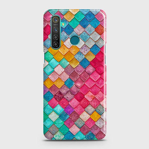 Chic Colorful Mermaid 3D Snap On Case For Realme 5 Pro