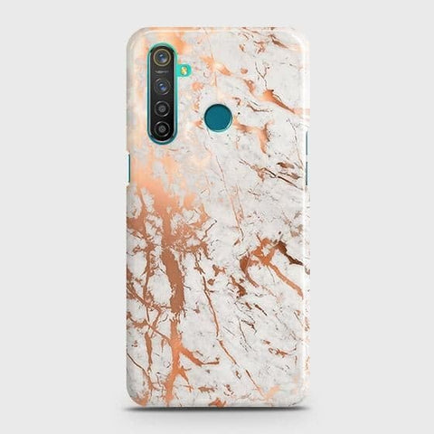 3D Print in Chic Rose Gold Chrome Style Snap On Case For Realme 5 Pro