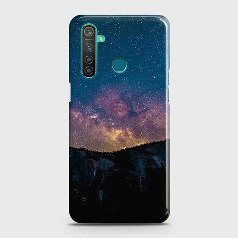 Embrace, Dark Galaxy 3D Trendy Case For Realme_5s