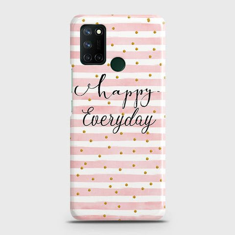 Realme 7i Cover - Trendy Happy Everyday Printed Hard Case with Life Time Colors Guarantee