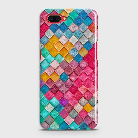 Chic Colorful Mermaid 3D Case For Realme C1
