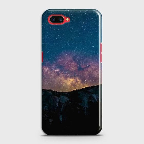 Realme C1 Cover - Embrace Dark Galaxy  Trendy Printed Hard Case with Life Time Colors Guarantee