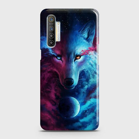 Realme XT Cover - Infinity Wolf Trendy Printed Hard Case with Life Time Colors Guarantee