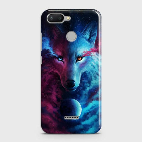Infinity Wolf 3D Trendy Case For Xiaomi Redmi 6