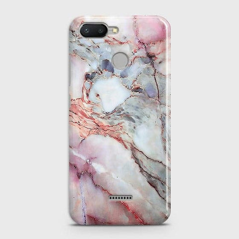 Violet Sky Marble 3D Trendy Case For Xiaomi Redmi 6