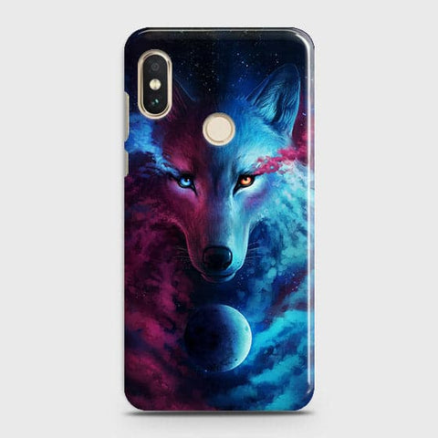Infinity Wolf 3D Trendy Case For Xiaomi Redmi Note 6 Pro