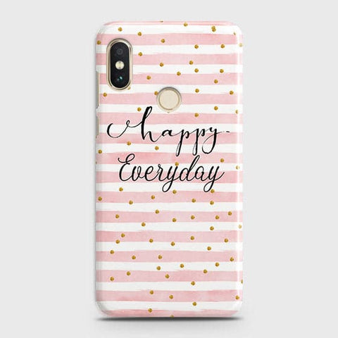 Trendy Happy Everyday Case For Xiaomi Redmi Note 6 Pro