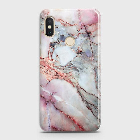 Violet Sky Marble 3D Trendy Case For Xiaomi Redmi Note 6 Pro