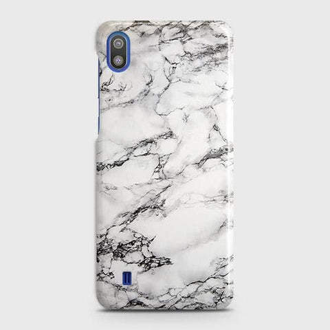 Trendy White Floor Marble Case For SAMSUNG GALAXY A10