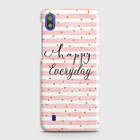 Trendy Happy Everyday Case For SAMSUNG GALAXY A10