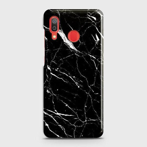 Trendy Black Marble Case For SAMSUNG GALAXY A20