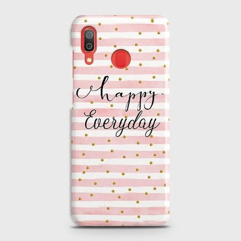 Trendy Happy Everyday Case For SAMSUNG GALAXY A20