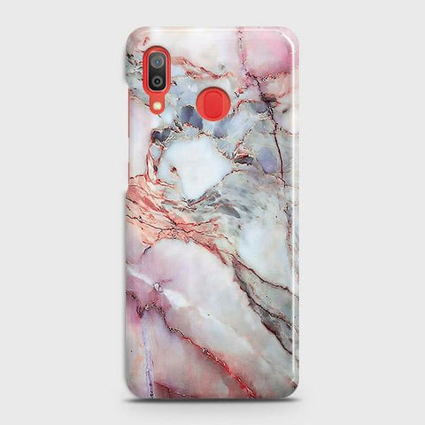 Violet Sky Marble 3D Trendy Case For SAMSUNG GALAXY A20