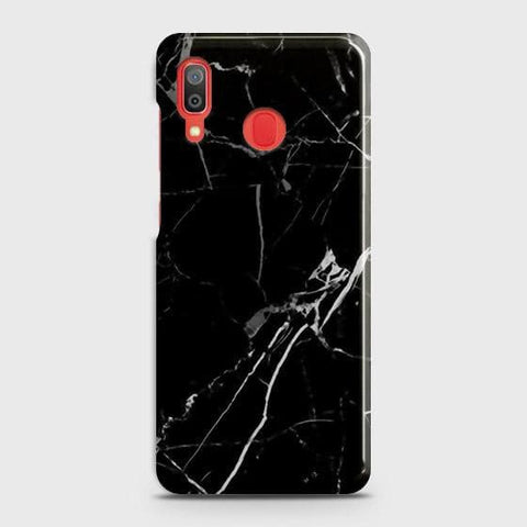 Black Modern Classic Marble Case For SAMSUNG GALAXY A20