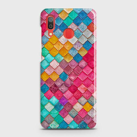 Chic Colorful Mermaid 3D Case For SAMSUNG GALAXY A30