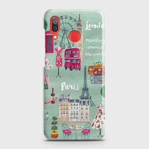 London, Paris, New York Modern Case For SAMSUNG GALAXY A30