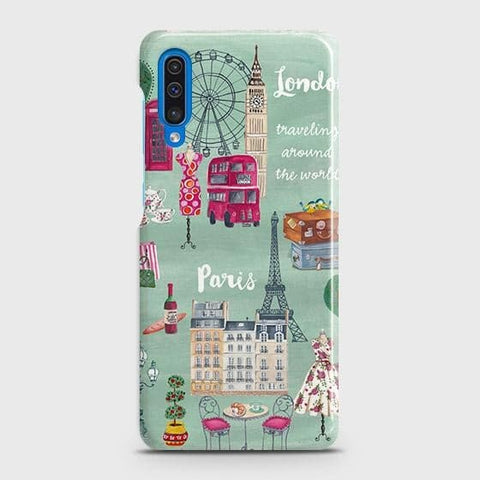 London, Paris, New York Modern Case For SAMSUNG GALAXY A50