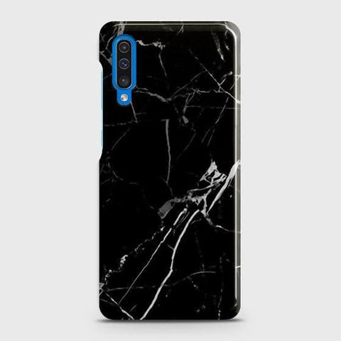 Black Modern Classic Marble Case For SAMSUNG GALAXY A50