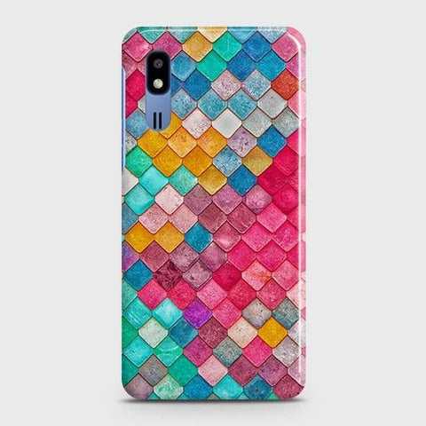 Chic Colorful Mermaid 3D Case For Samsung Galaxy A2 Core