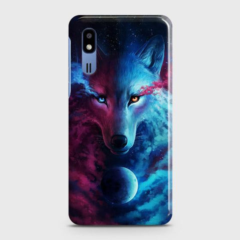Infinity Wolf 3D Trendy Case For Samsung Galaxy A2 Core