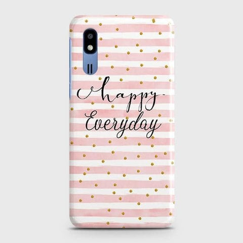 Trendy Happy Everyday Case For Samsung Galaxy A2 Core
