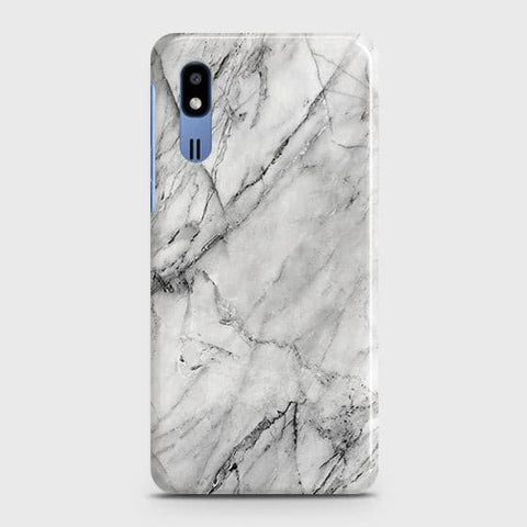 Trendy White Marble Case For?Samsung Galaxy A2 Core