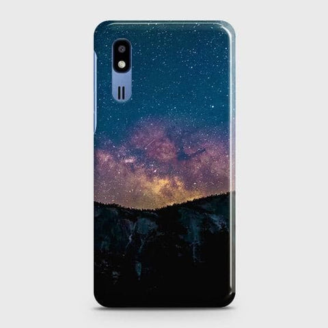 Embrace, Dark Galaxy 3D Trendy Case For Samsung Galaxy A2 Core