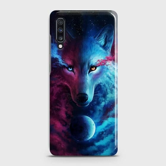 Infinity Wolf 3D Trendy Case For Samsung Galaxy A70