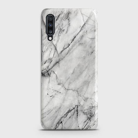 Trendy White Marble Case For?Samsung Galaxy A70