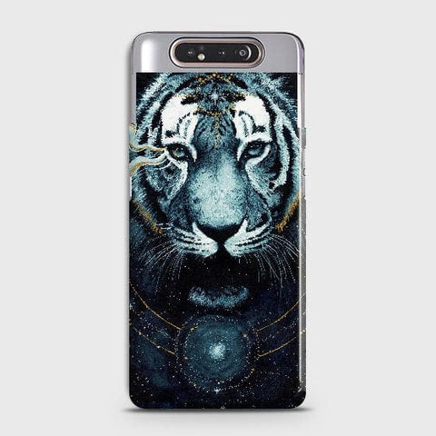 Vintage Galaxy 3D Tiger Case For Samsung Galaxy A80