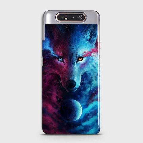 Infinity Wolf 3D Trendy Case For Samsung Galaxy A80