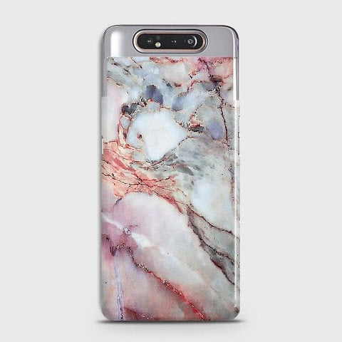 Violet Sky Marble 3D Trendy Case For Samsung Galaxy A80
