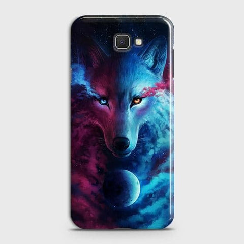 Infinity Wolf 3D Trendy Case For Samsung Galaxy J4 Core